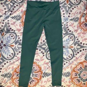 Danskin High Waisted Green Leggings Size Medium